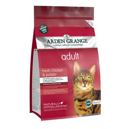 Picture of Arden Grange Cat Gluten Free - Chicken 2kg