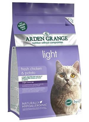 Picture of Arden Grange Cat Gluten Free Light 2kg