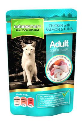 Picture of NATURES MENU CAT CHK/SAL/TUNA