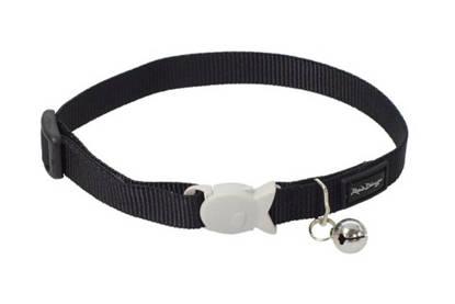 Picture of Red Dingo Cat Collar - Black - 20-32cm