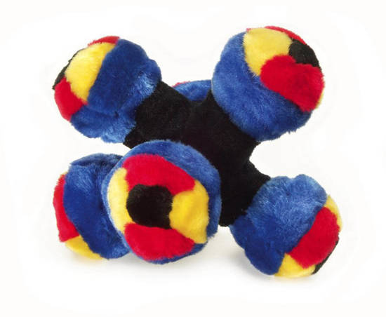 Picture of Softees star ball dog toy
