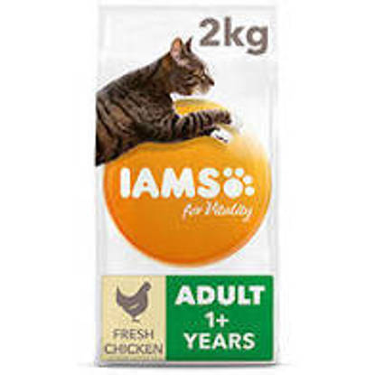 Picture of Iams Vitality Cat Adult Chicken 2kg