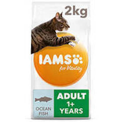Picture of Iams Vitality Cat Adult Ocean Fish 2kg